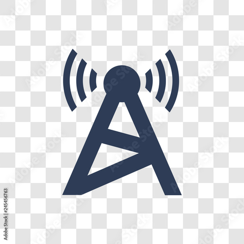 Radio tower icon vector - Buy this stock vector and explore