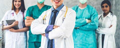 Foto  Healthcare people group