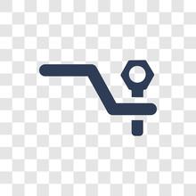 Car Towbar Icon Vector