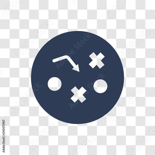 Fotografía  Tactics icon vector