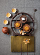 Flat Lay East Asian Culture Ch...