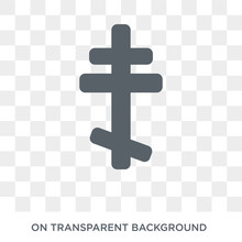 Orthodox Icon. Trendy Flat Vector Orthodox Icon On Transparent Background From Religion Collection. High Quality Filled Orthodox Symbol Use For Web And Mobile