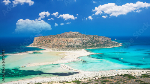 Fotomural  Balos lagoon on Crete island, Greece