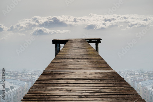 Brücke.