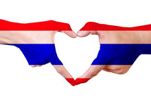Esture Made By Thailand Flag