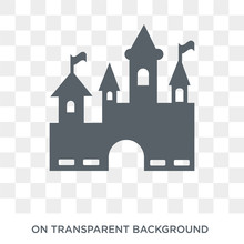 Disneyland Icon. Disneyland Design Concept From Entertainment Collection. Simple Element Vector Illustration On Transparent Background.