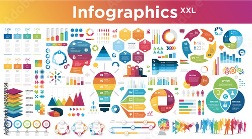 Foto  infographics Full Pack