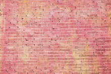 Colorful Grunge Art Wall For Design Background.