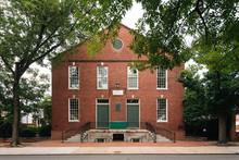 The Old Presbyterian Meeting House, In Alexandria, Virginia