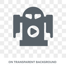 R2D2 Icon. Trendy Flat Vector ...