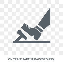 Car Pedal Icon. Car Pedal Design Concept From Car Parts Collection. Simple Element Vector Illustration On Transparent Background.