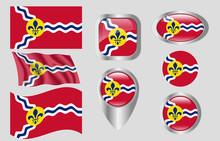 Flag Of St. Louis, Missouri