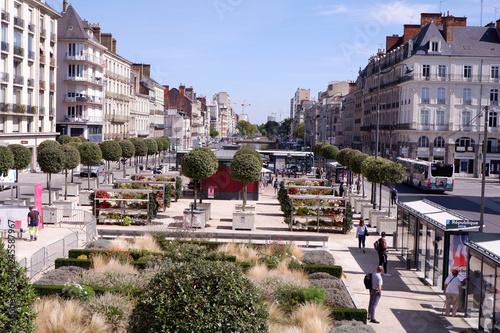 Fotografie, Obraz  centre-ville de Rennes