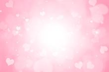 Heart Shape Bokeh Valentine Da...