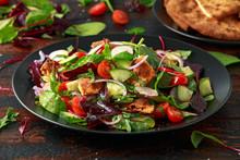 Traditional Fattoush Salad On ...