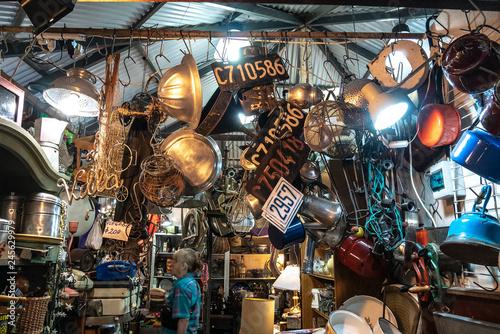 Mercado de San Telmo Argentina Canvas Print