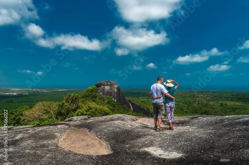 Deurstickers Asia land Landscape of Big Stone Baginda