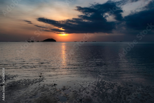 Deurstickers Asia land Tanjung Pendam Beach from Belitung