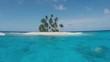 Paradise Island in the ocean