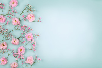 Floral composition with spr...