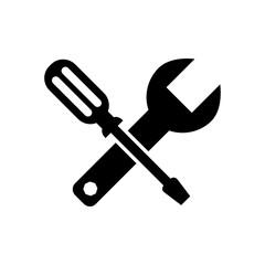 klucz i śrubokręt ikona