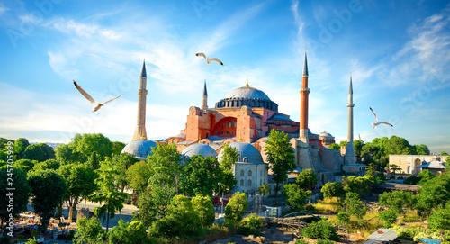 Poster Piscine Hagia Sophia Istanbul