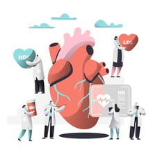 Doctor Diagnose Heart For Chol...