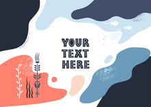 Vector Template With Space For...