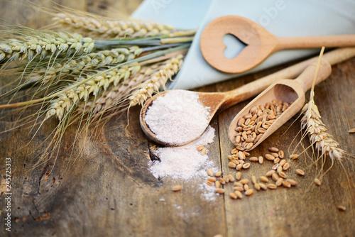 Mehl,Getreide