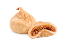 Dried Figs Isolate On A White ...
