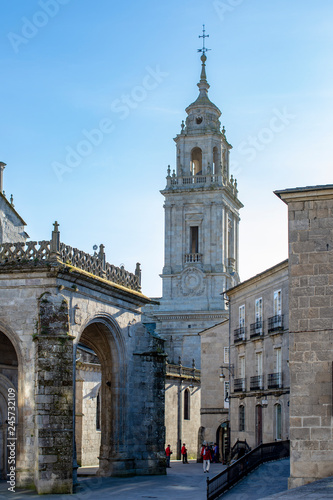 Saint Mary's Cathedral or Lugo Cathedral in Galicia, Spain