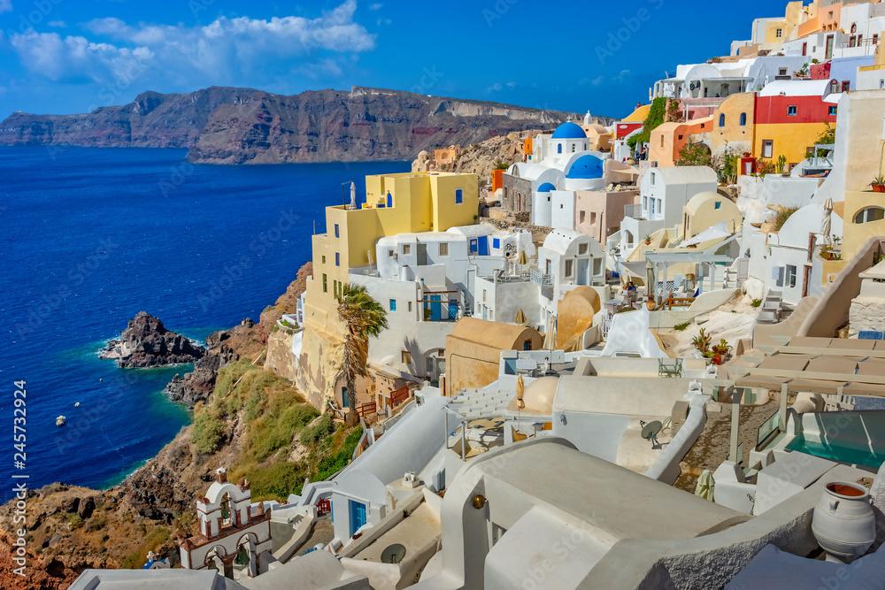 Fototapety, obrazy: Architektura na Santorini, Grecja, Europa