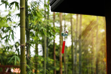 Wind Bell Hanging From The Roo...
