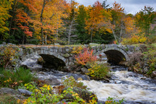 Stoddard Double Arch Stone Bridge