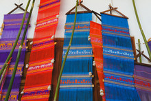 Traditional Fabric Lanna Flag ...