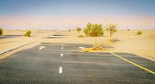 Abandoned Desert Road