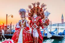 Venice, Italy. Carnival Of Ven...