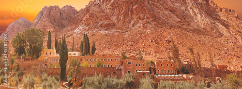 Fotografia Holly  monastery of St. Catherine, mount Moses, Sinai, Egypt