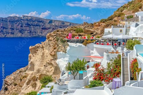Obraz Santorini, Grecja - fototapety do salonu
