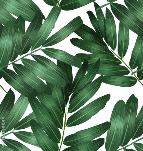 Poster Vegetal Seamless foliage pattern4
