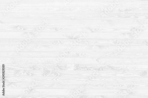 White wood texture background top view Canvas Print