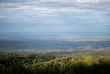 Fototapeta Do pokoju - Morning sun light and mountains.