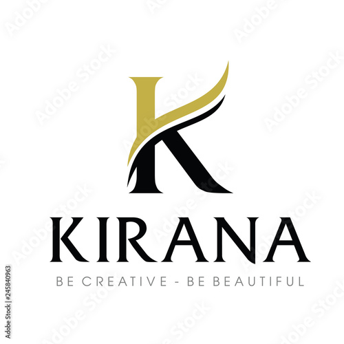 Initial Monogram K Logo Design Inspiration Vector Buy