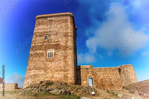 Zdjęcie XXL Wieża zamku Feria España