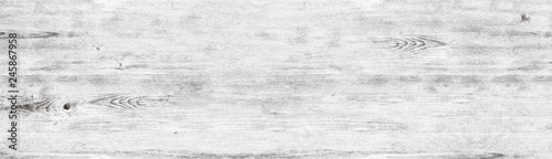 Wide white wood texture - whitewashed wooden shabby background