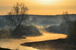 Early spring on the Miass river