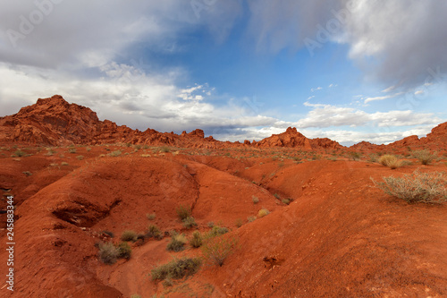 Valley of Fire State Park at sunset, Nevada, United States