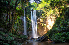 Morkfa Waterfall Close To Chia...