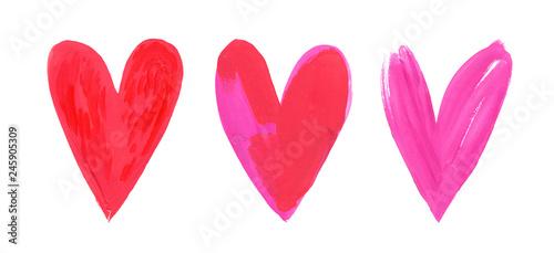 Obraz na plátně Happy Valentines Day