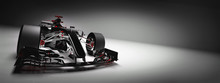 Modern F1 Car On Light Backgro...